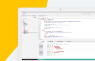 IDE to code, build and deploy your Apps